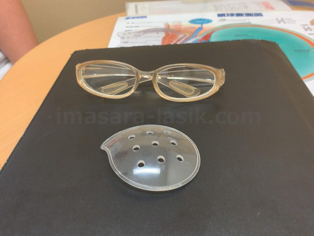 保護メガネ&眼帯