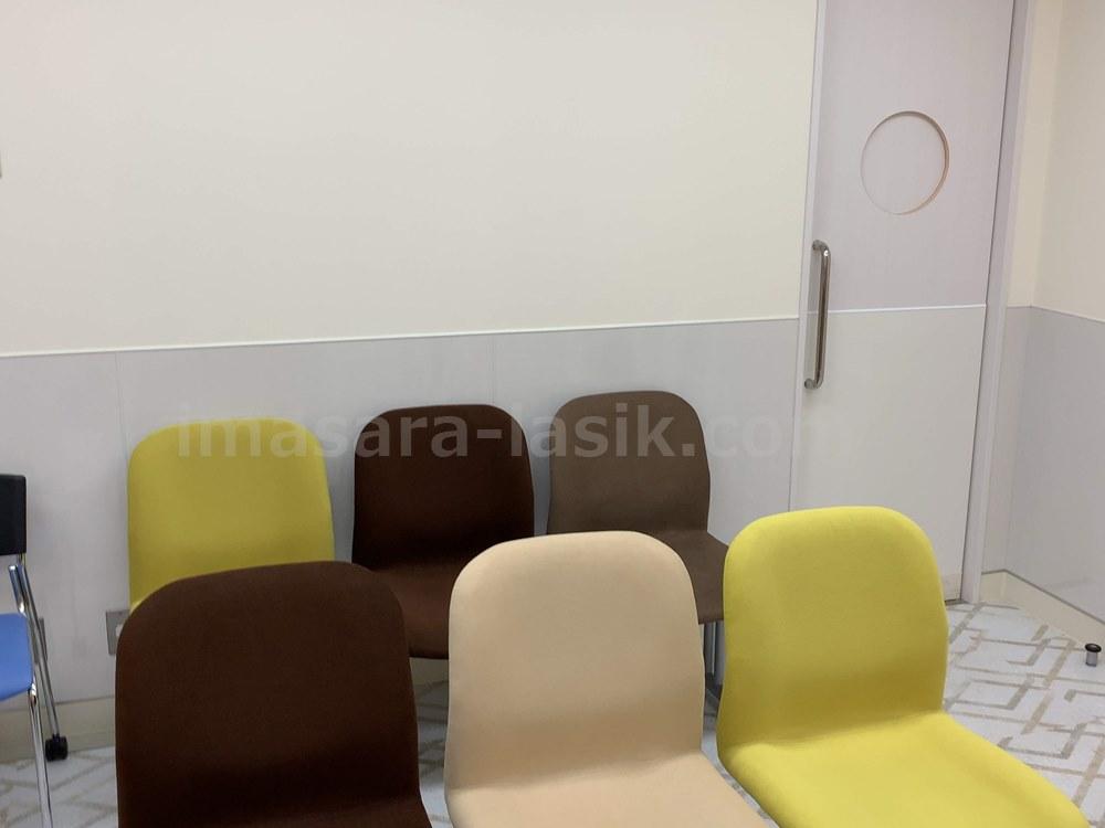 手術前の待合室
