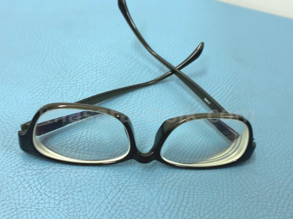 メガネとさよなら